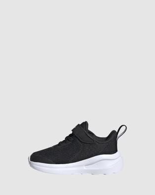 adidas Performance - Fortarun EL Infant Lifestyle Shoes (Black/White/Black)
