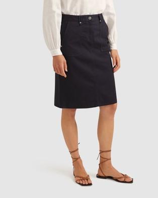 Sportscraft Inga Skirt - Skirts (blue)
