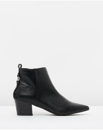SPURR - ICONIC EXCLUSIVE - Garnet Ankle Boots