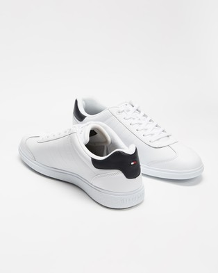 Tommy Hilfiger Essential Corporate Cupsole - Sneakers (White)