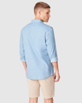 French Connection Chambray Regular Fit Shirt - Casual shirts (CHAMBRAY)