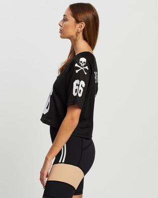 VILLIN NFL Girl's Jerseys T-Shirts & Singlets Black/White