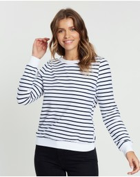 Atmos&Here - Sally Striped Sweat