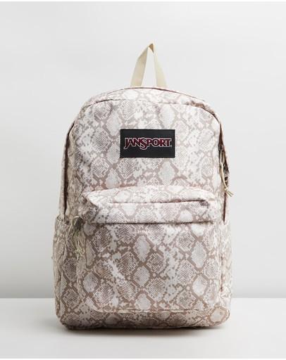 Jansport Superbreak Plus Backpack Classic Python