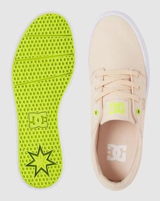 DC Shoes Womens Trase Platform TX Shoe - Sneakers (TAN 1)