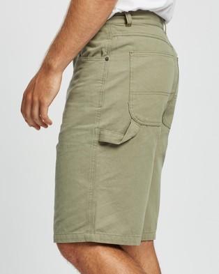 Locale Canvas Work Shorts - Shorts (Khaki)