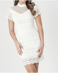 Amelius - Arina Lace Mini Dress