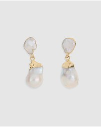 Arms Of Eve - Saint-Michel Baroque Pearl Earrings