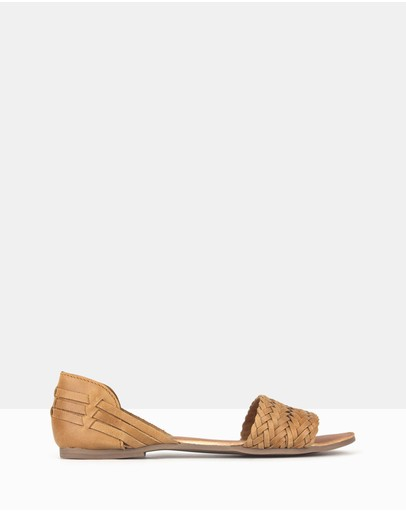 Betts - Fiji Woven Leather D'Orsay Sandals