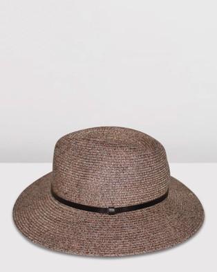 BeforeDark Alice Fedora - Hats (Walnut)