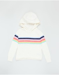 GapKids - Stripe Hooded Sweater - Teens