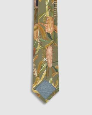 Peggy and Finn Grass Tree Tie - Ties (Sage)