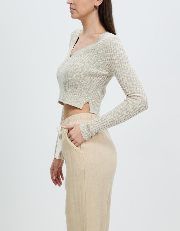 Women Jamie V Neck Knit