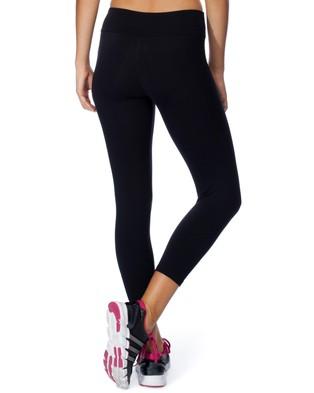 Brasilfit Supplex Mid Calf Legging - 7/8 Tights (Black)