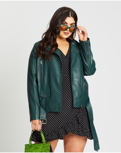 Mika Muse - Billie Oversized Biker Jacket