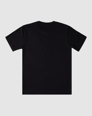 DC Shoes Youth Density Zone T Shirt Short Sleeve T-Shirts Black