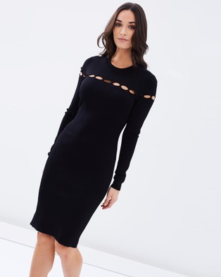Cooper St – Nitto Dress Black