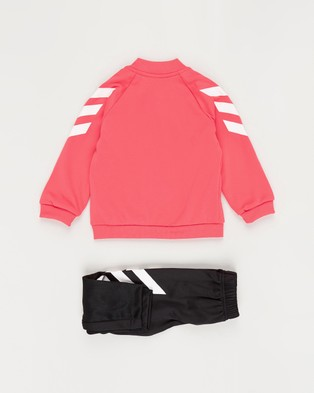 adidas Performance Mini Me Track Suit   Babies Kids - Pants (Core Pink & White)