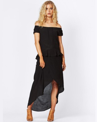 Three of Something – Last Dance Maxi Dress – Dresses (Black)