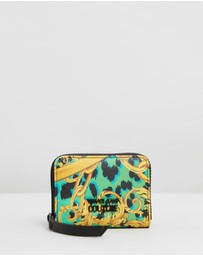 Versace Jeans Couture - Baroque Printed Mini Wallet