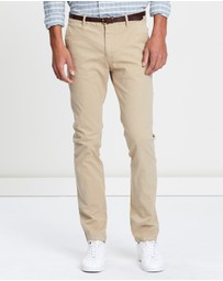 Scotch & Soda - Slim Fit Garment Dyed Chinos