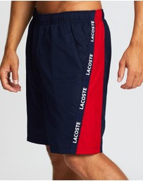 Lacoste - Tennis Shorts With Taping