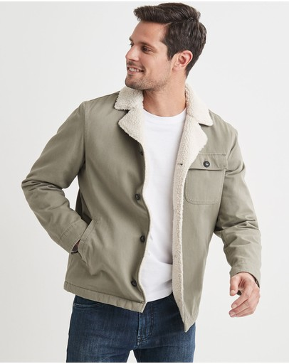 Blazer - Noah Sherpa Fleece Jacket