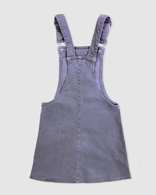 Gelati Jeans Kids Megs Cargo Pinafore - Dresses (Blue)