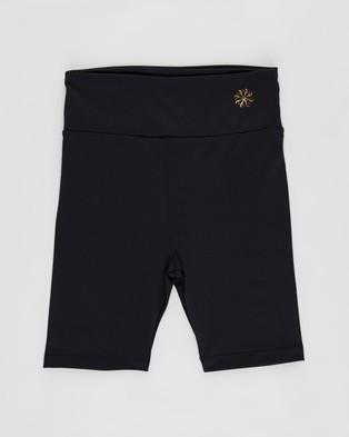 Flo Active Isabella High Waist Bike Shorts   Teens - 1/2 Tights (Black)