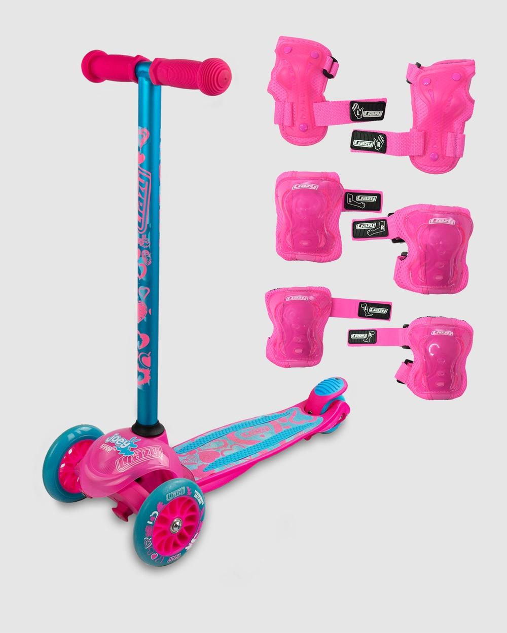 Crazy Skates Joey Hearts All toys Pink Australia