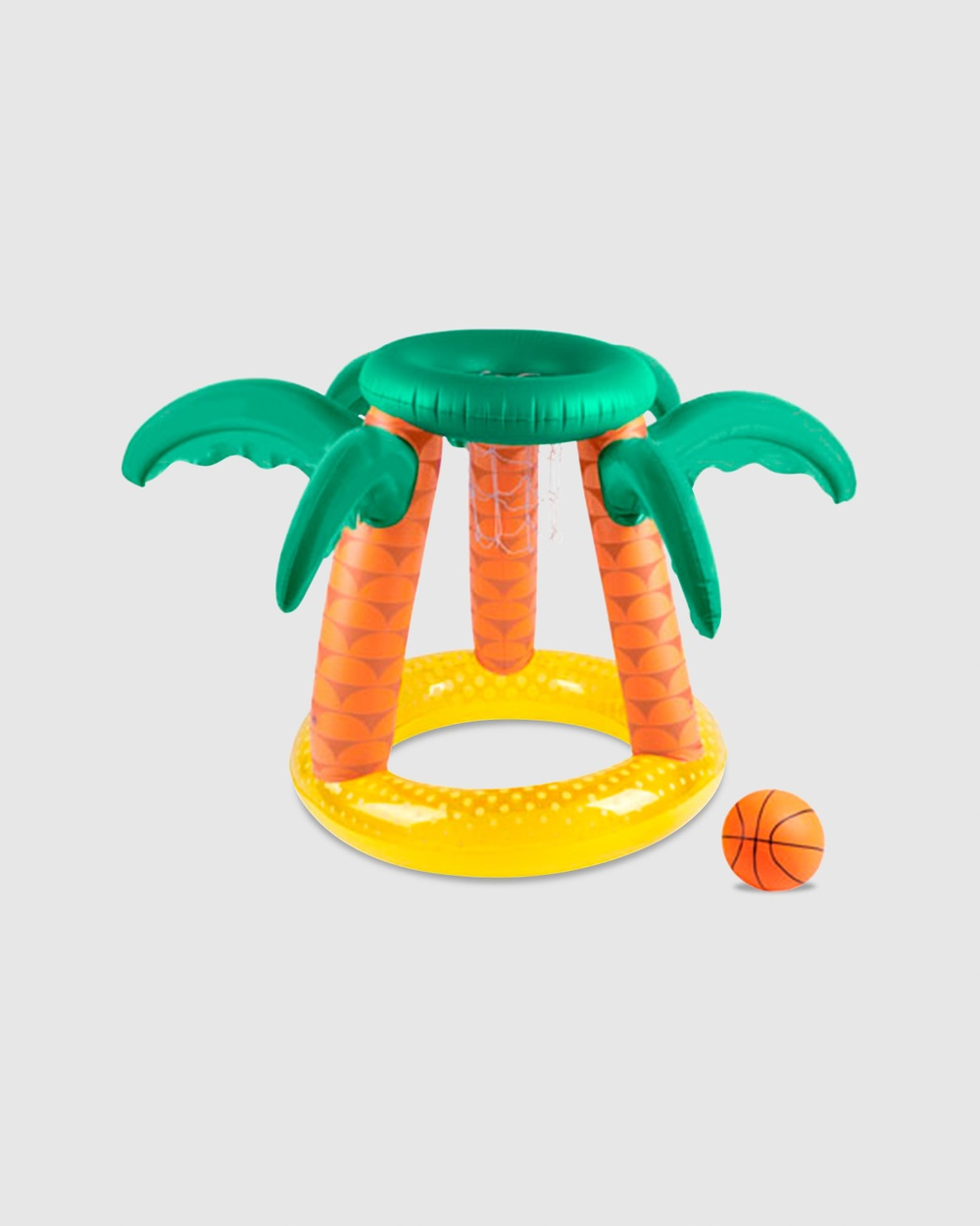Sunnylife Inflatable Basketball Set Accessories Tropical Island