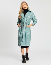 Missguided - Textured Vinyl Trench
