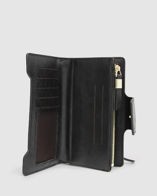 Belle & Bloom Sweet Soul Leather Wallet - Wallets (Black)