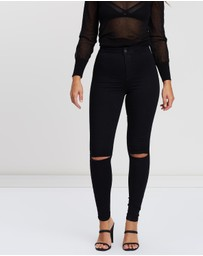 TOPSHOP - Ripped Joni Jeans