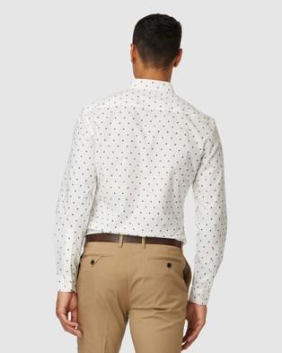 Jack London Beck Dot Shirt - Casual shirts (White)