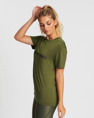 MORE BODY Sergeant Scapulae T Shirt - Short Sleeve T-Shirts (Olive)