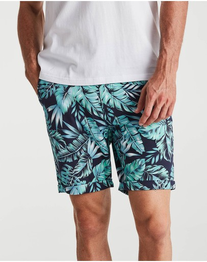 Coast Clothing Offshore Floral Chino Shorts Navy