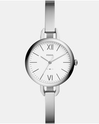 Annette Silver-Tone Analogue Watch