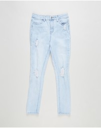 Free by Cotton On - Sally Skinny Jeans - Teens