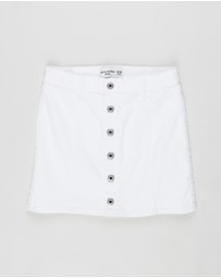Abercrombie & Fitch - Structured Skirt - Teens