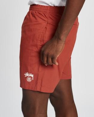 Stussy Basic Stock Beachshorts - Shorts (Brick)