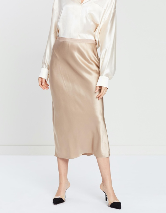 Joseph - Hurst Silk Satin Skirt