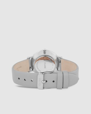 Cluse Le Couronnement Leather - Watches (Grey)