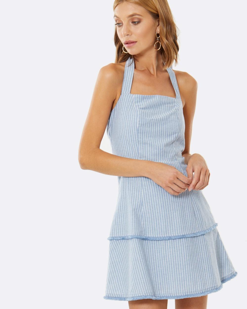 Calli Marcella Dress Dresses Blue Marcella Dress