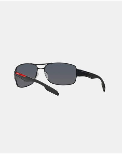 Prada Linea Rossa Ps53ns Polarised Black & Polar Grey