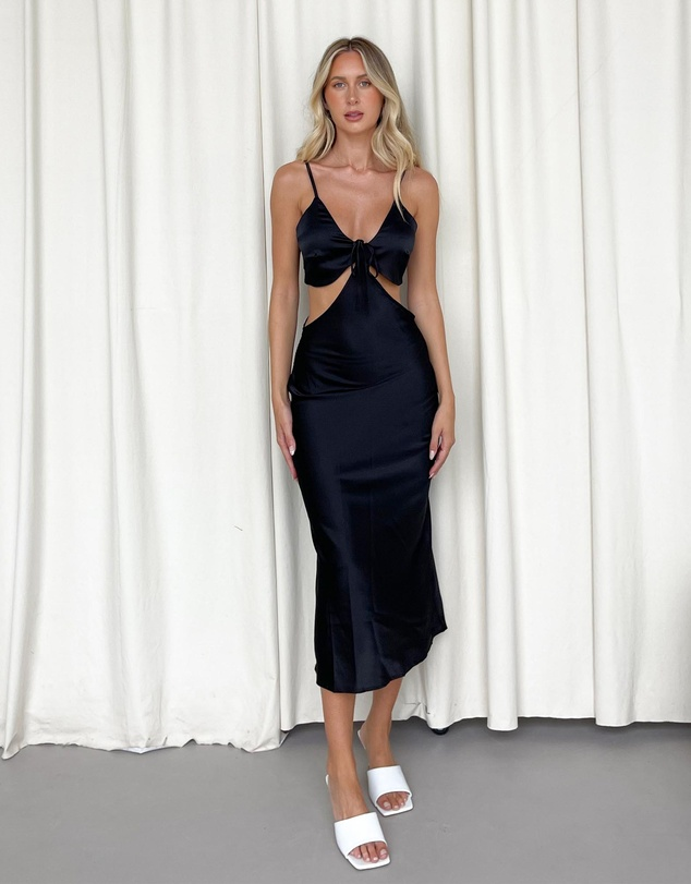 Dazie - To Be Honest Cut-Out Slip Dress