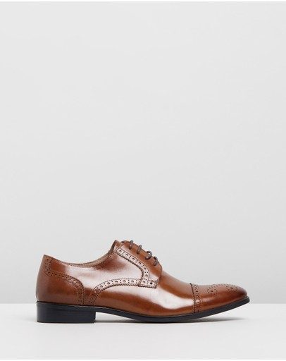 Double Oak Mills - Neath Leather Brouges