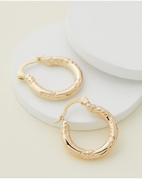 Reliquia Jewellery - Top That! Hoops