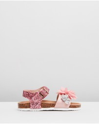 Colors Of California - Floral Bio Sandals - Kids