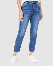 French Connection - Boyfriend Mid Rise Slim Jean